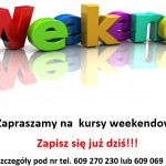 kursy weekendowe